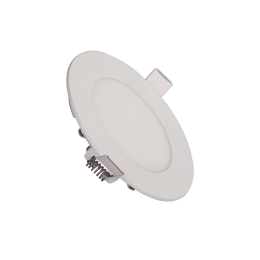 7W SMD Round Slim Ceiling Light Recess Mounting