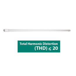 18W SMD LED Tube Single Side G13 with LED Stater - THD < 20